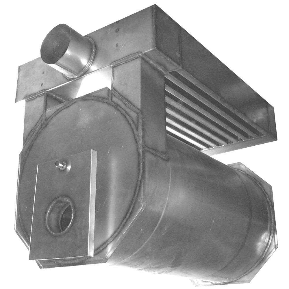 Теплообменник горелка у-образный теплообменник